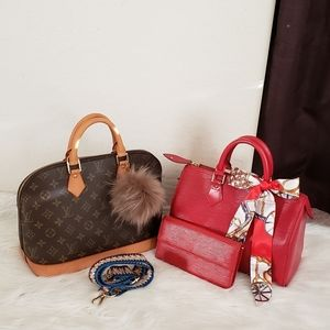 🎀FIRM PRICE 🎀TWO BAGS AND ONE WALLET AUTH LVS
